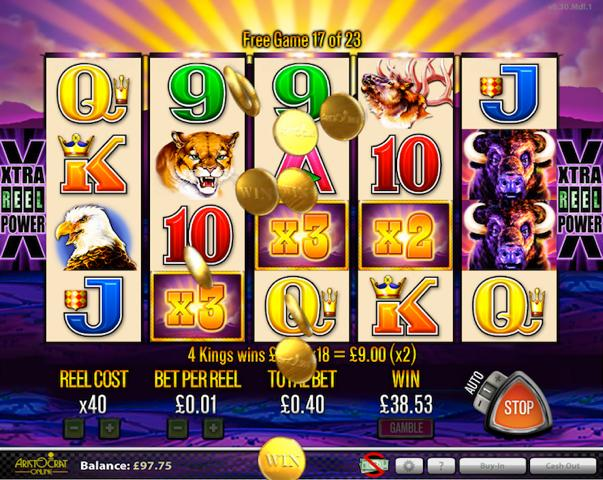 Buffalo Grand Slot Machine - Free to Play Online Demo Game