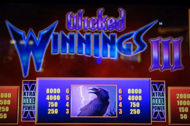 Slots wicked winnings