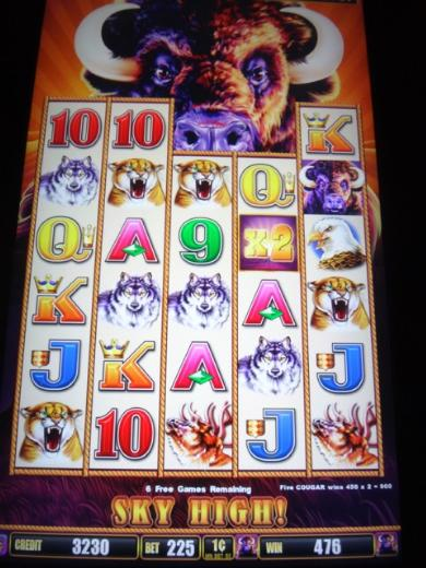 Buffalo Stampede Slot Machine